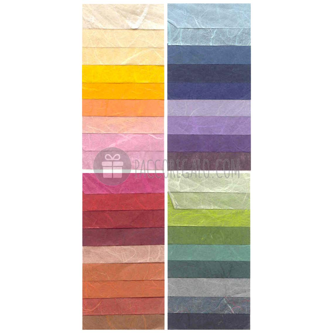 Carta di riso confezioni da 25 fogli vendita by pacco for Tende carta di riso