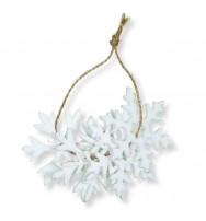 """Set di decorazioni in feltro """"Ice crystals"""" (6pz)"""