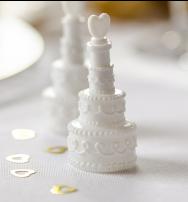 """Bolle di sapone """"Wedding cake"""" - conf. 4 pz."""