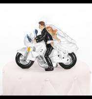 "Cake topper ""Sposi Bikers"""