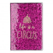 "Notebook rilegato ""LIFE IS A CIRCUS""-213"