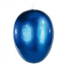 Decorazione Uovo Blu in plastica (cm 15)