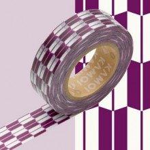 Masking Tape: Frecce viola