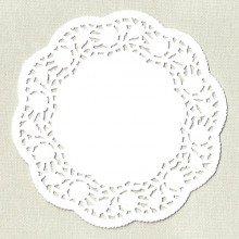 Centrini di pizzo in carta cm 10 (pz.100)