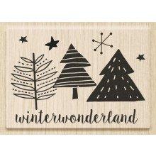 "Timbro ""Winter wonderland"" (cm 6 x 4)"