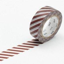 Masking Tape: Colore Diagonale marrone