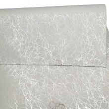 """Buste regalo """"SEGNI GRAFICI"""" metallizzate argento cm 30x50"""