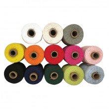 Cordino Bakers monocolor 100% cotone (mt 50)