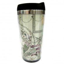 """Travel mug """"Toujours Provence"""" shabby chic"""