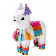 Piñata decorativa Lama (cm 28)