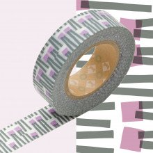Masking Tape: Carote viola grigio