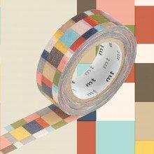 Masking Tape: Quadretto colori scuri