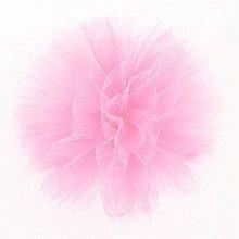 Fluffy Pom Pom in TULLE - ROSA (cm25)