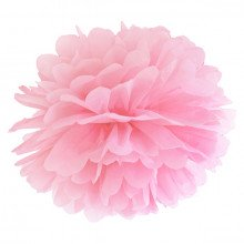 Tissue Pom Pom in carta velina - ROSA (cm 35)