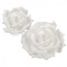 Rosa in polietilene bianca (misure varie)