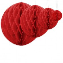 Honeycomb Rosso - misure
