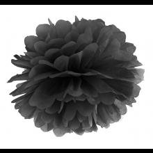 Tissue Pom Pom in carta velina - NERO (cm 35)