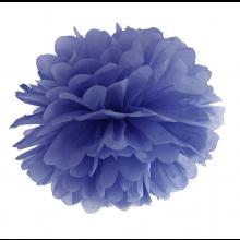Tissue Pom Pom in carta velina - BLU (cm 35)