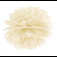 Tissue Pom Pom in carta velina - CREMA (cm 35)