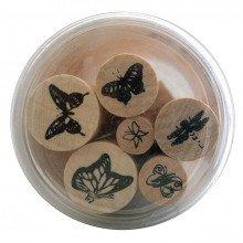Set Timbri farfalle (6 pezzi)-21