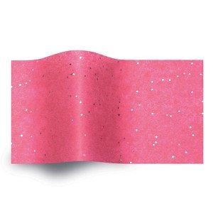 Carta velina Fuxia e glitter  cm 50x76 (24 fogli)