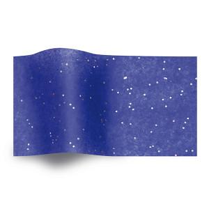 Carta velina Blu e glitter cm 50x76 (25 fogli)