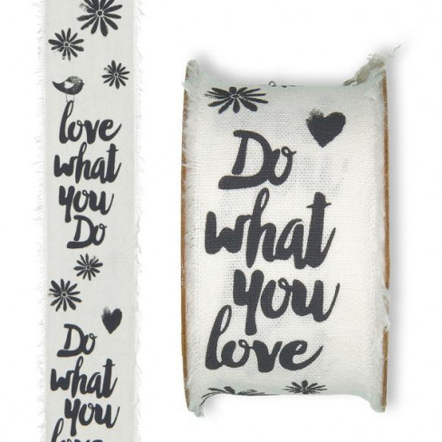 "Nastro ""Love what you do"" (mm 30 x 3 mt)-31"