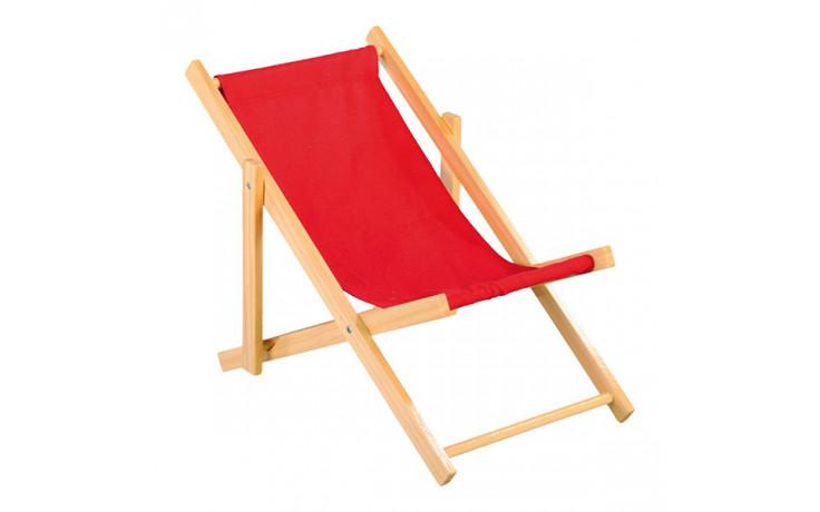 Sedia A Sdraio Tessuto : Sedia sdraio in legno e tessuto colori vari cm cm