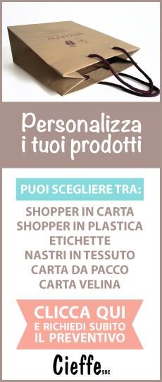 Personalizza i tuoi prodotti!