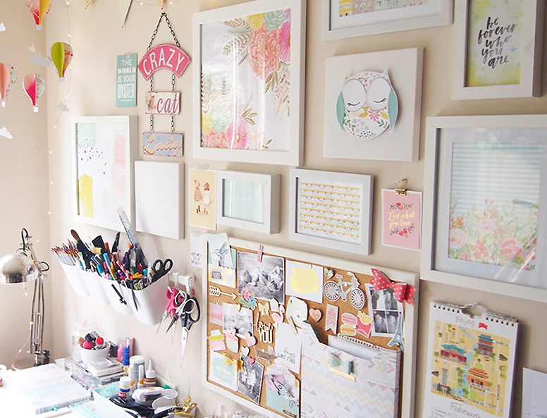 Decorazioni e craftroom